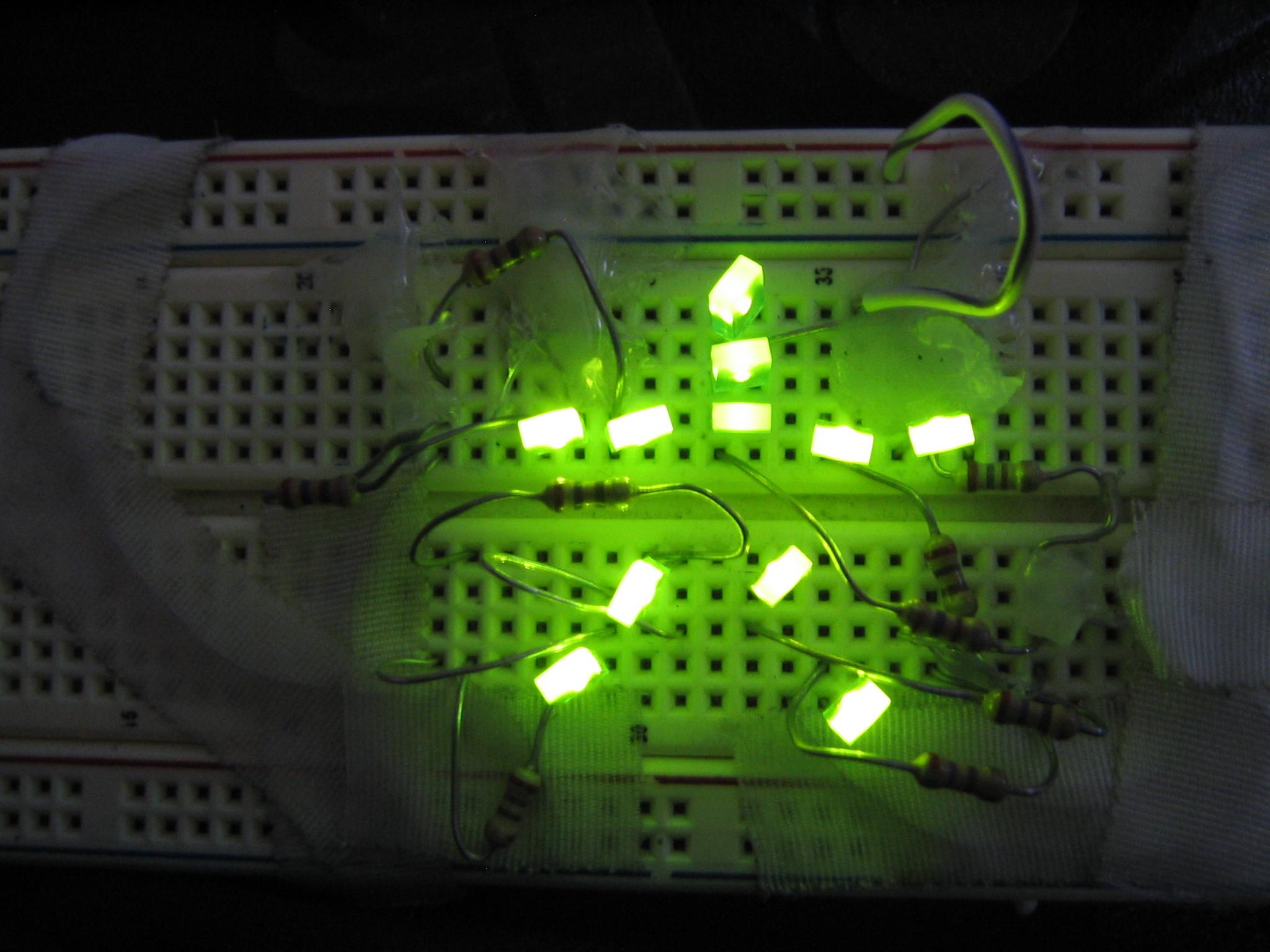 Make a Breadboard Sweatshirt (Instant Wearable Electronics!)