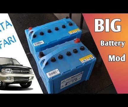 How to Install a Larger Battery in Your Car, Feat- Tata Safari | Right Pole Vs Left Pole Battery | Big Battery Upgrade