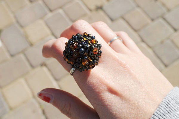 Bauble Cocktail Ring