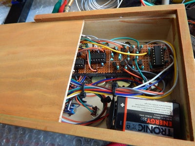 Inserting the Battery and the Board Inside the Box