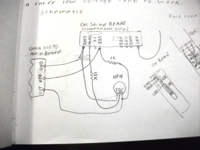 Adding a NOT Gate Signal Conditioner to the Receiver