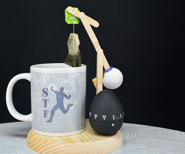 Simple Tea Bag Extractor