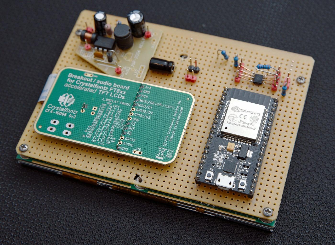 MegaSquirt Digital Dashboard Display