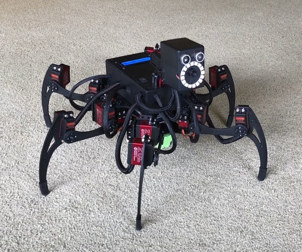 Jasper the Arduino Hexapod