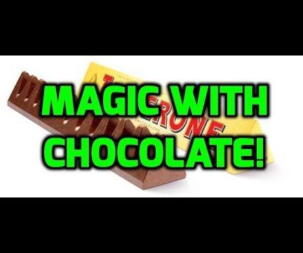 How to Do Magic With a Chocolate Bar