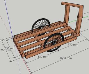 木自行车拖车