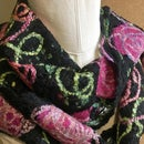 Crazy-Wool No Knit Rose Scarf