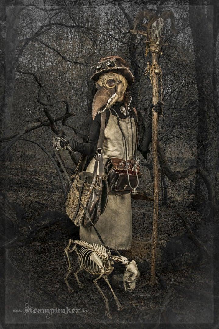 Steampunk Plague Doctor Costume