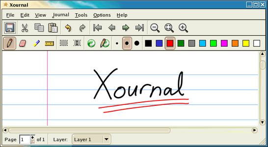 Xournal 0.4.8 Setup