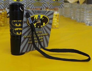 Bat Signal Flashlights