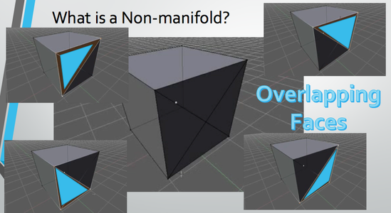 What Is a Non-manifold? (Overlapping Geometry)