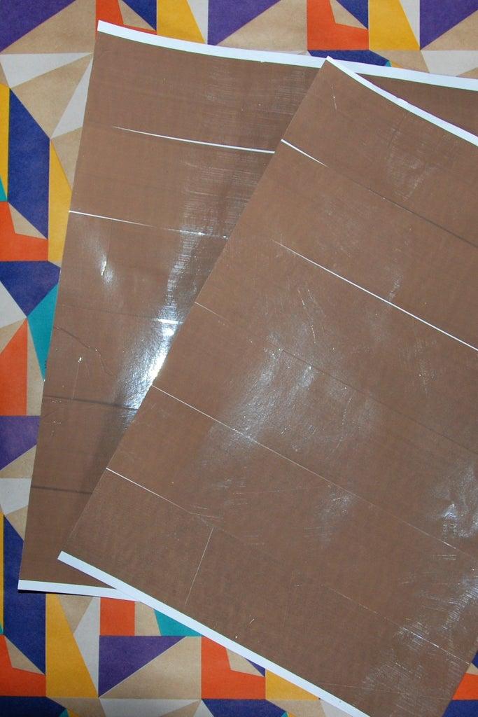 Applying Tape and Printing