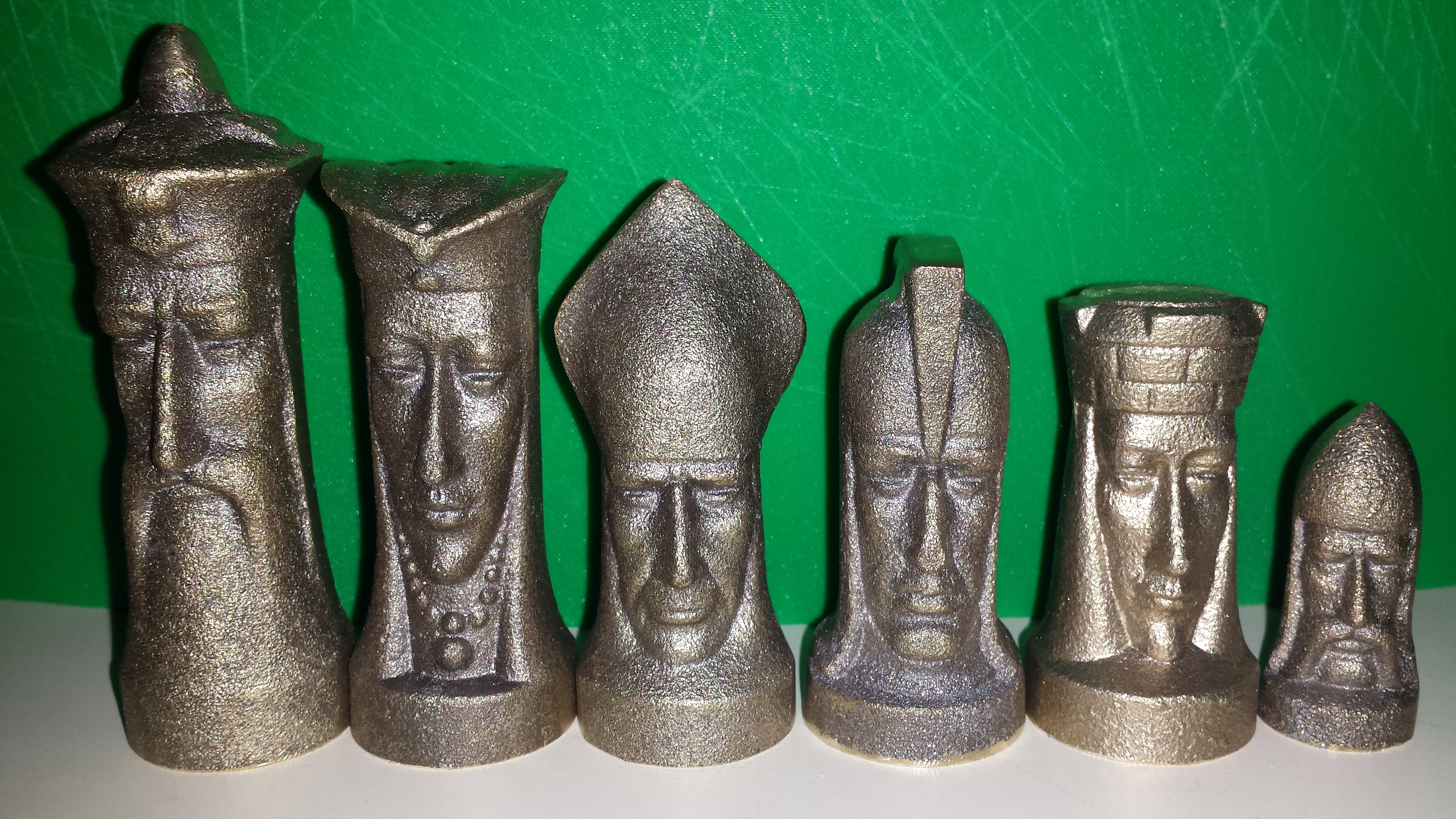 Cast Chess Set