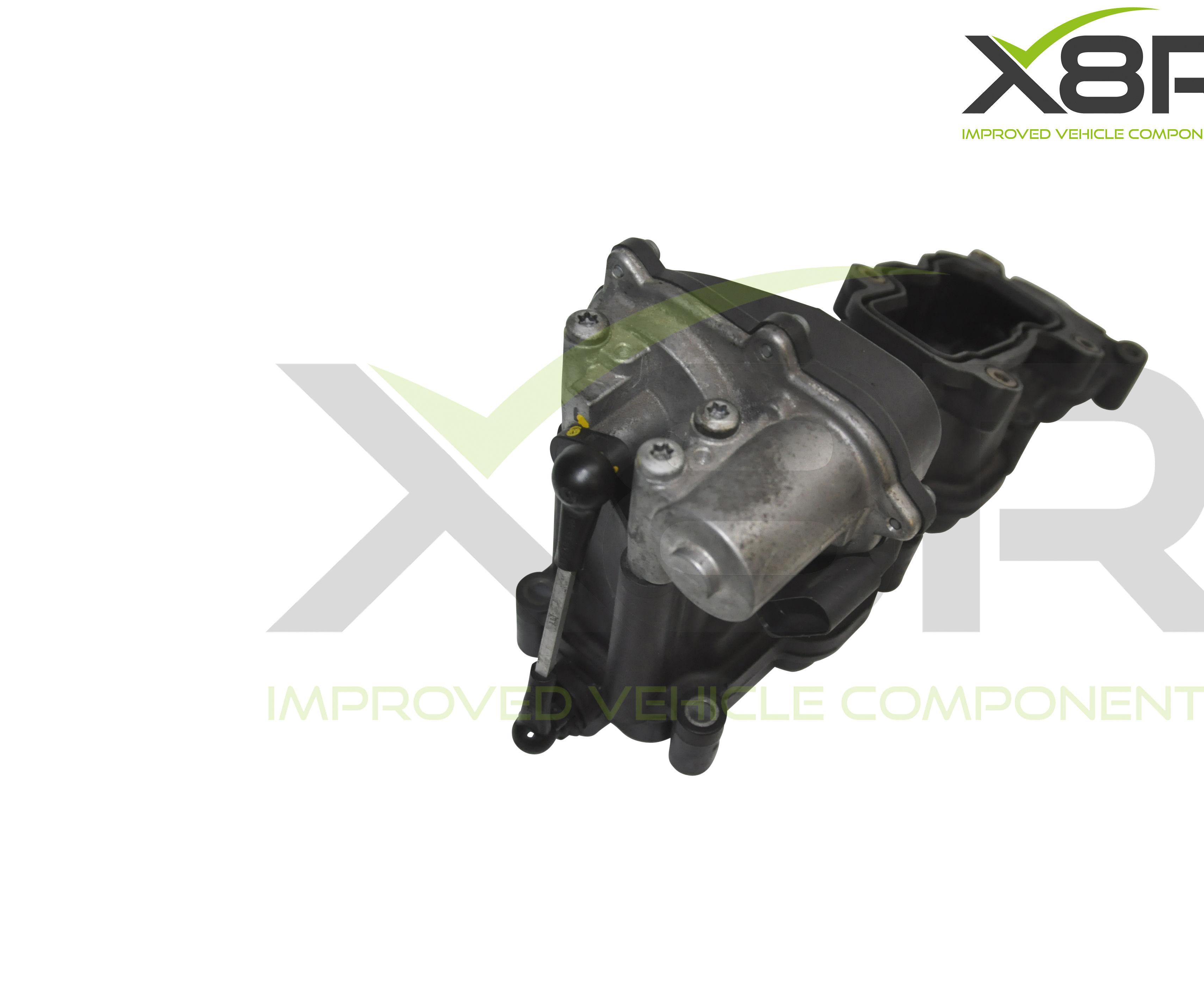 Audi Seat Skoda VW 2.7 & 3.0 TDI Left & Right Intake Inlet Intake Manifold P2015 Error Motor Actuator Repair Bracket Fix Kit Install Instructions Guide