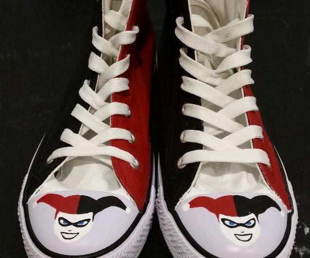 Harley Quinn/Joker DC Comics Shoes