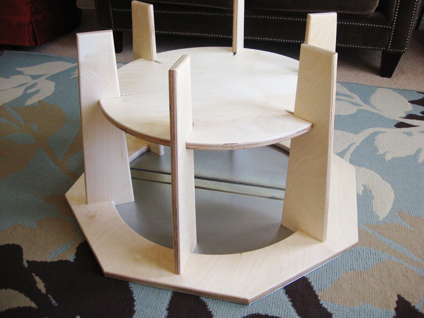 Stop Sign Coffee Table