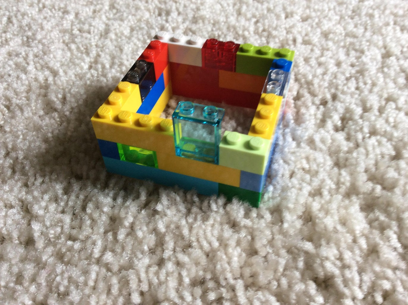Build the Lego Top.