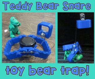 """Teddy Bear Snare"" Toy Bear Trap"