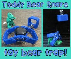 """Teddy Bear Snare"" Toy Bear Trap"