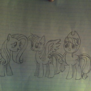 How to Draw a 'My Little Pony'