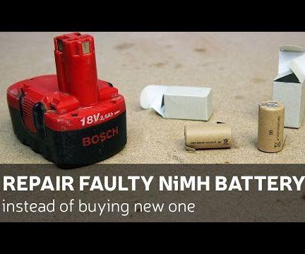 DIY: Repair Faulty NiMH Battery Instead of Buying New One