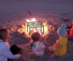 Pack & Carry Bonfire Grill