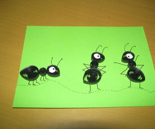 Quilling Ants