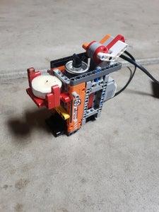 FIRE BREATHING JACK-O'-LANTERN USEING LEGO