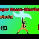 How To Make a Paper Rasengan/Rasen-Shuriken (Tutorial)