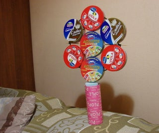 Cardboard-Cans-Flower