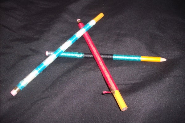 Back to School Style Pencils (or Pens)
