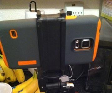 Cheap Tripod phone mount x2