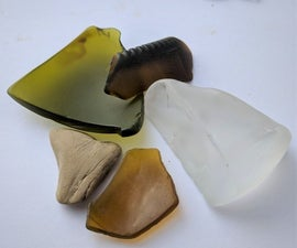 Water Wheel Sea Glass