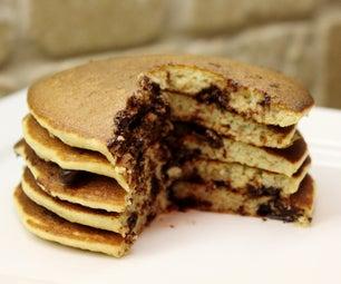 Banana Bread Pancakes (gluten Free)