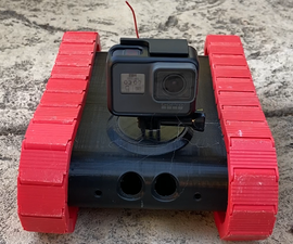3d Printed RC Controlled Tank!!