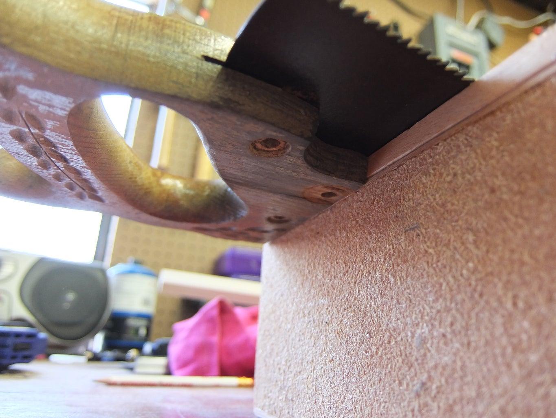 Prepare the Soundboard (Cigar Box Lid)