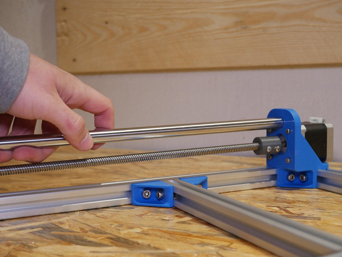 Y Axis and Aluminium Frame