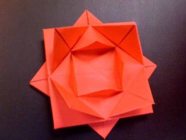 How to Fold a Paper Flower