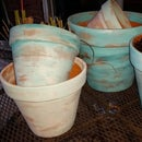 Painting Terra Cotta Pots