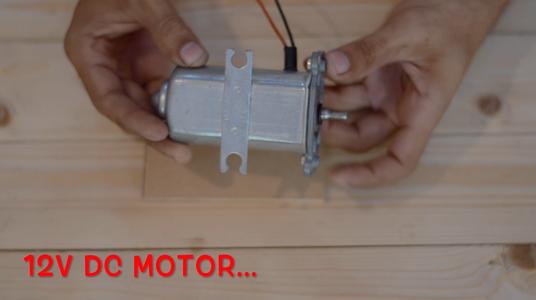 Motor and Motor Mounting