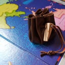 Children's Leather Dice Pouch