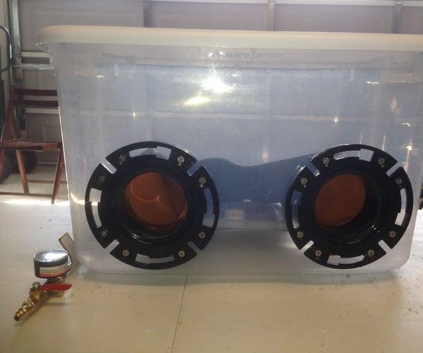 Low Cost Plastic Blasting Cabinet