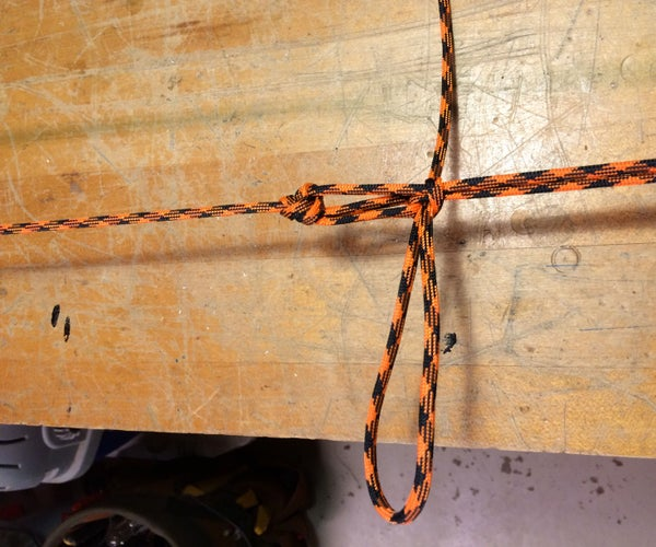 Easy Paracord Tie Down