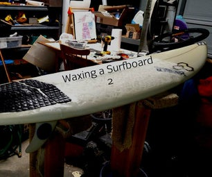 How to Wax a Surfboard 2