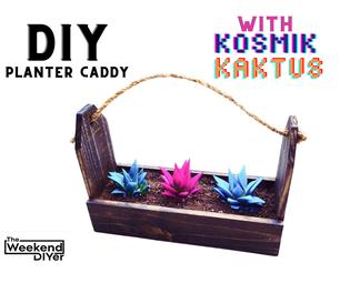 DIY Planter Caddy