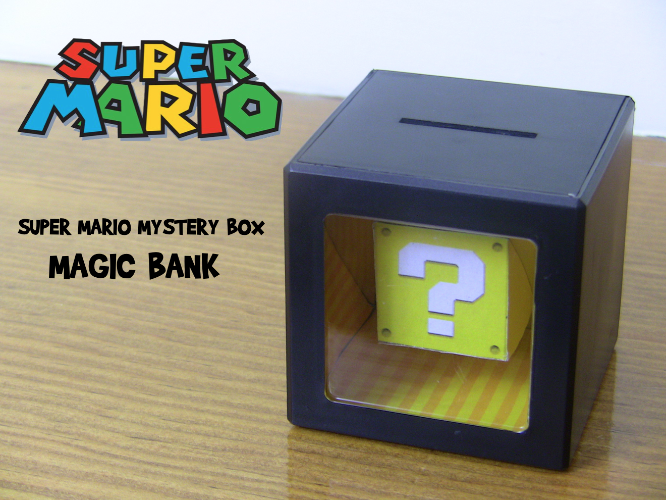 Super Mario Mystery Box Magic Bank
