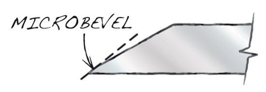 Now Hone the Micro Bevel
