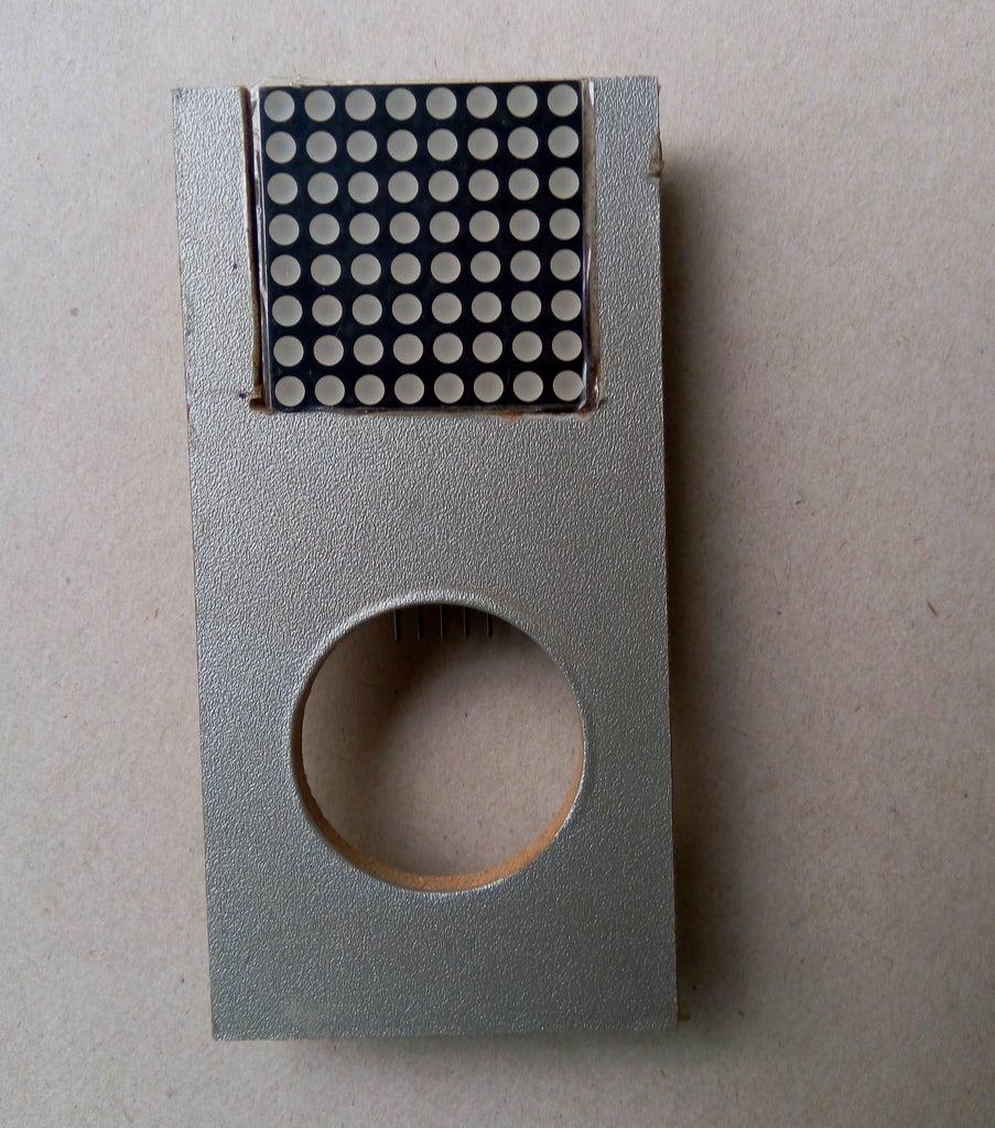 Preparing Dot Matrix Front Panel