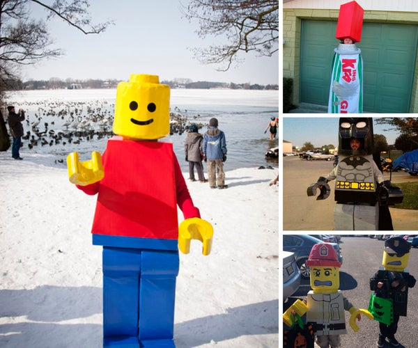 Lego Costume Supplies