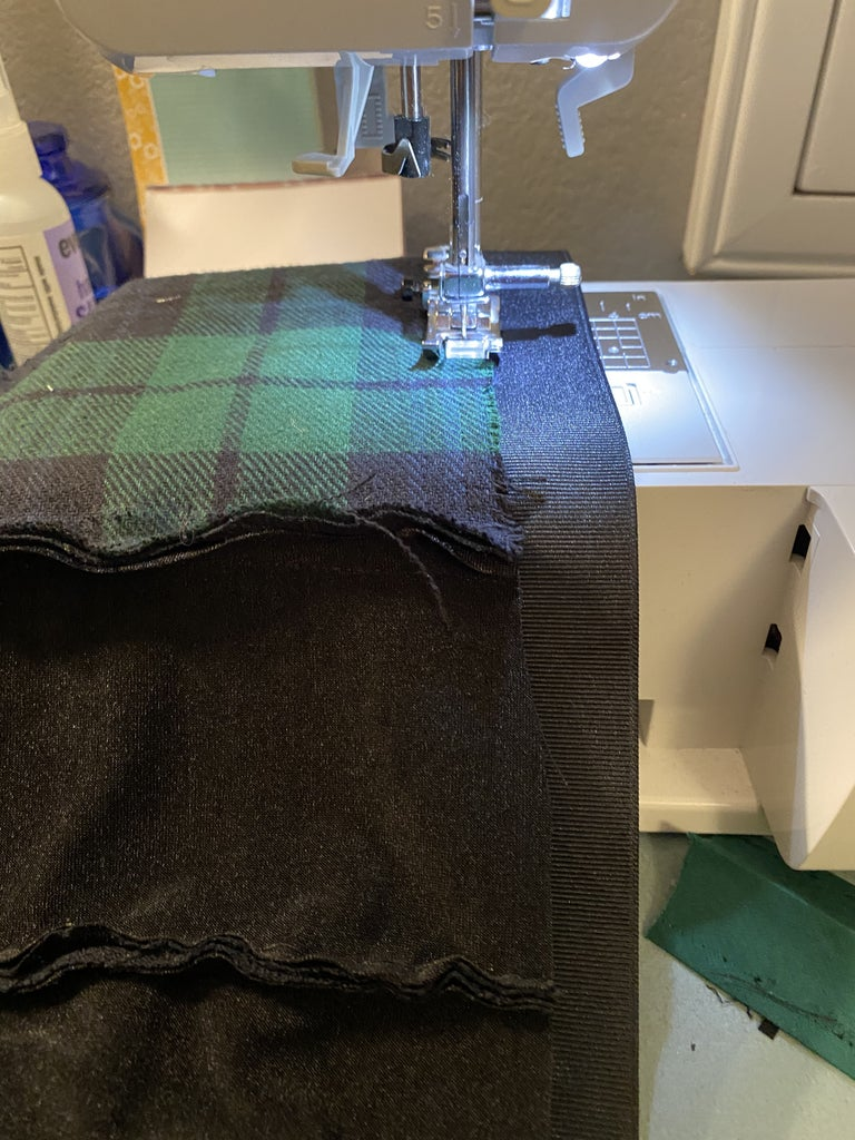 Making the Top of the Dress